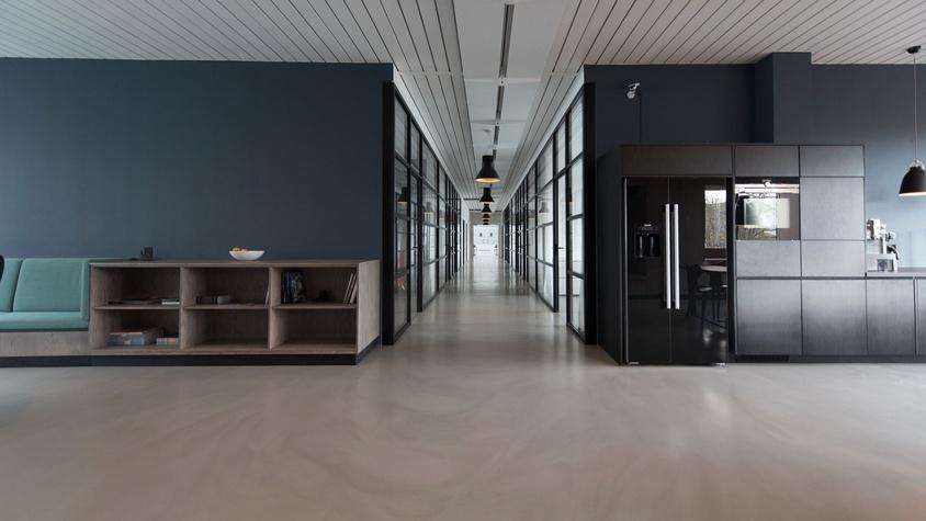 Pose de cloisons dans des bureaux à Boulogne-Billancourt (92)